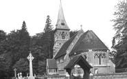 Ottershaw, Christ Church c1955