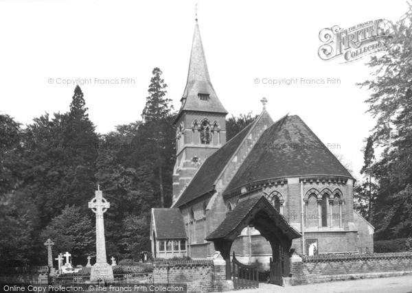 Ottershaw, the Church c1955