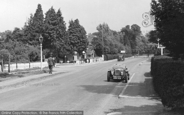 Guildford Road, Ottershaw, c.1955. Reproduced courtesy of The Francis Frith Collection