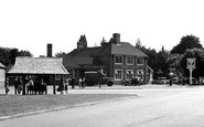 Ottershaw, the Otter Corner c1955