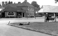 Ottershaw, the Otter Hotel c1955