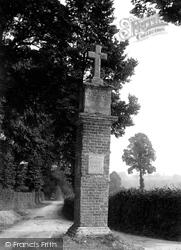 Otterton, Brick Cross 1914