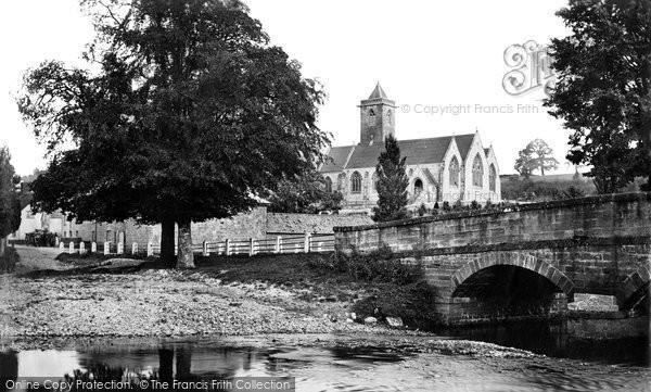 Otterton, Church c1874