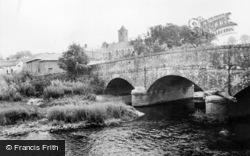 Otterton, The Bridge And Church c.1955