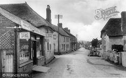 Otterton, The Village 1925