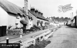 Otterton, The Village c.1955