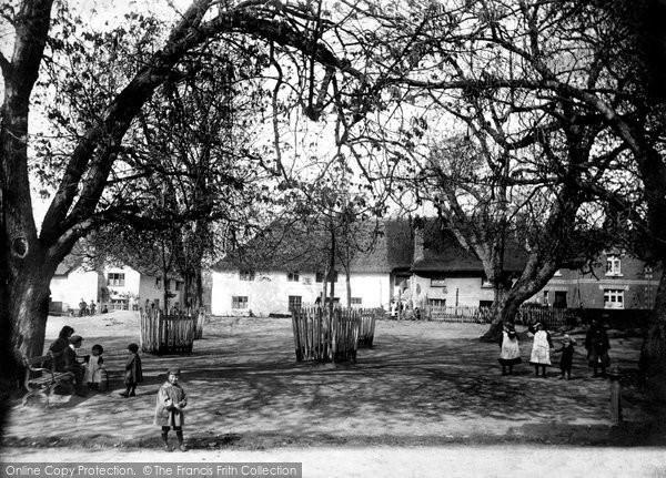 Otterton, the Village Green 1914