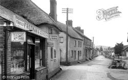 Otterton, The Village Shop 1925