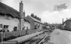 Otterton, The Village Street 1925