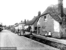 Otterton, Village 1925