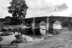 Cadhay Bridge 1922, Ottery St Mary
