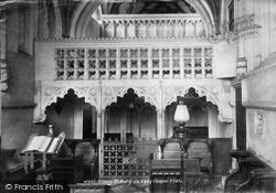Church Lady Chapel 1901, Ottery St Mary