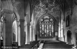 Church North Aisle 1901, Ottery St Mary