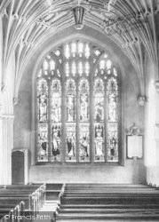 Church North Aisle, Stained Glass 1901, Ottery St Mary