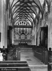 Church, The Altar Screen 1938, Ottery St Mary