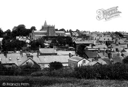 General View 1907, Ottery St Mary