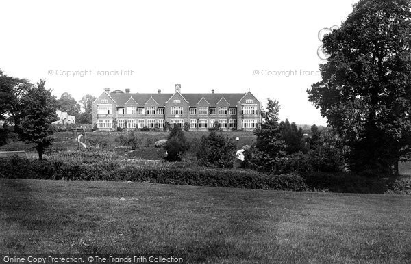 Ottery St Mary, Kings School 1922