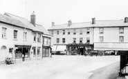 Ottery St Mary, Market Place 1907