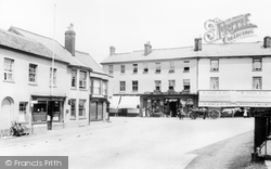 Market Place 1907, Ottery St Mary