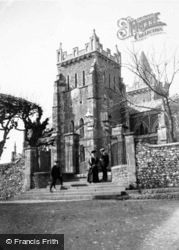 Parish Church Of St Mary 1909, Ottery St Mary