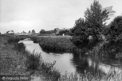 River Otter 1922, Ottery St Mary