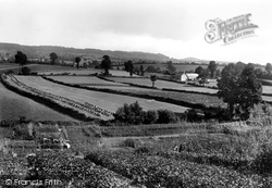 Sidmouth Gap From Tip Hill 1922, Ottery St Mary