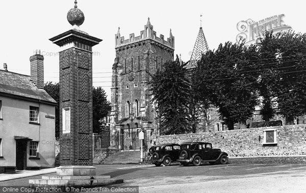 Ottery St Mary, Church 1938