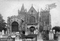 Ottery St Mary, St Mary's Parish Church 1901