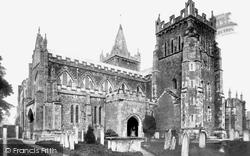 St Mary's Parish Church 1901, Ottery St Mary