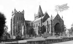 St Mary's Parish Church c.1955, Ottery St Mary