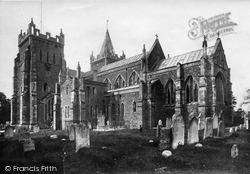 St Mary's Parish Church From The South East 1901, Ottery St Mary