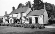 Ottery St Mary, the Cottage Guest House c1955