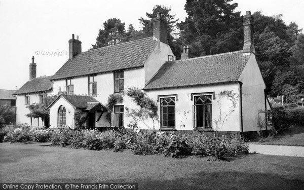 Ottery St Mary, the Cottage Guest House c1960