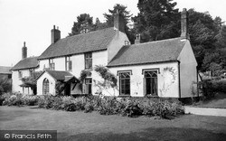 The Cottage Guest House c.1955, Ottery St Mary