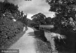 The Mill Stream 1922, Ottery St Mary