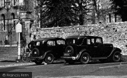 Vintage Cars 1938, Ottery St Mary