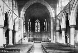 Church Interior 1897, Oughtrington