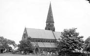 Oughtrington, the Church c1955