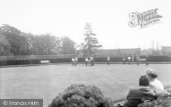 Oulton Broad, Bowling Green c.1955