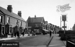Oulton Broad, Bridge Road c.1955