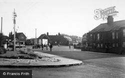 Bridge Road From The Cross Roads c.1955, Oulton Broad