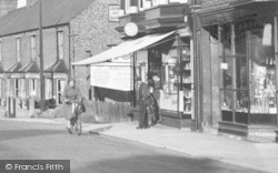 Oulton Broad, Cycling Up Bridge Road c.1955