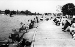 On The River c.1965, Oulton Broad