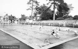 Oulton Broad, Swimming Pool c.1965