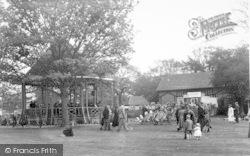 Oulton Broad, The Bandstand c.1955