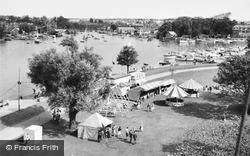 Oulton Broad, The Fair c.1960