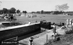 Oulton Broad, The Lock c.1965