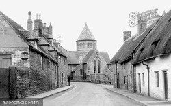 Oundle, Benefield Road c.1950