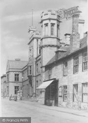 Oundle, Main School Buildings c.1950