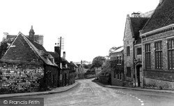 Oundle, Mill Road c.1950